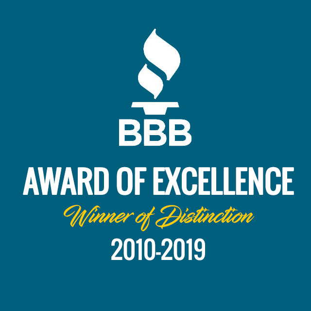 BBB Award of Excellence Air Conditioning Repair